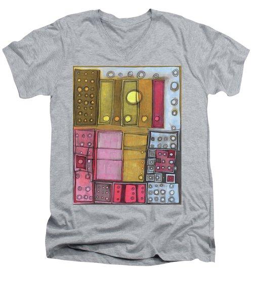 Geometric I Men's V-Neck T-Shirt