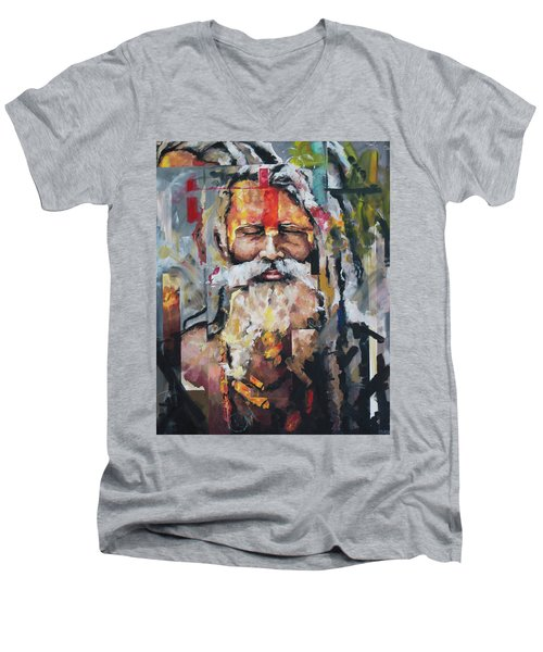 Tribal Chief Sadhu Men's V-Neck T-Shirt