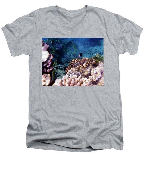 Tridacna Squamosa  Men's V-Neck T-Shirt
