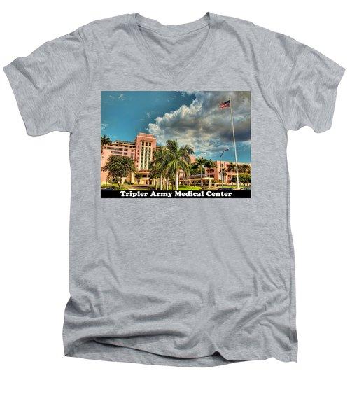Tripler Card Sample Men's V-Neck T-Shirt