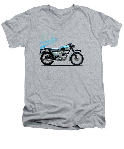 Triumph Bonneville 1961 Men's V-Neck T-Shirt by Mark Rogan