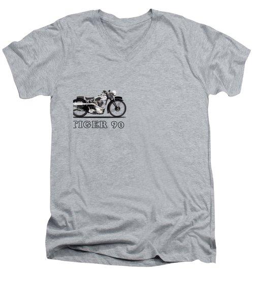 Triumph Tiger 90 1937 Men's V-Neck T-Shirt