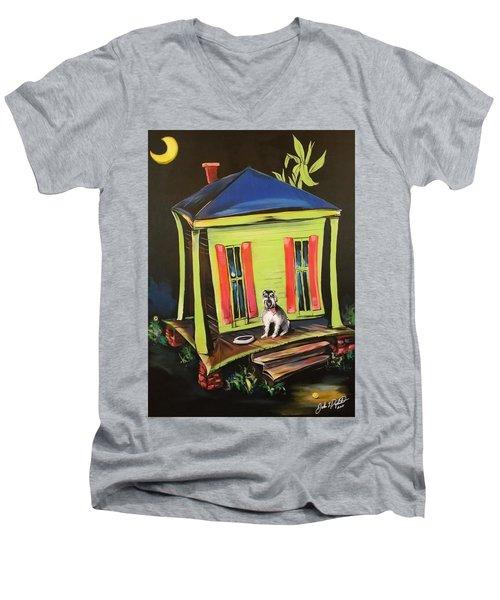 Trixie's House Men's V-Neck T-Shirt