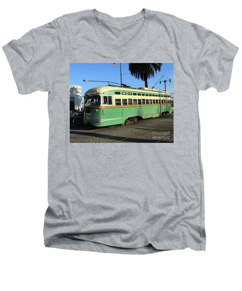 Trolley Number 1058 Men's V-Neck T-Shirt