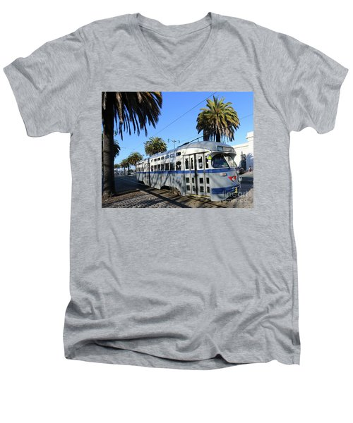 Trolley Number 1070 Men's V-Neck T-Shirt