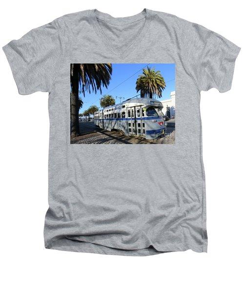 Trolley Number 1070 Men's V-Neck T-Shirt