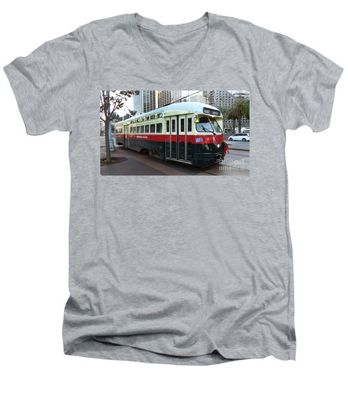 Trolley Number 1077 Men's V-Neck T-Shirt