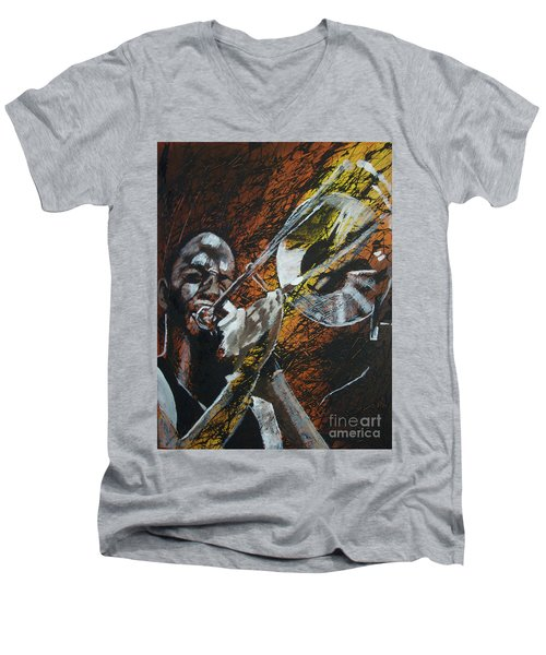 Trombone Shorty Men's V-Neck T-Shirt