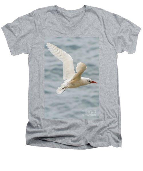 Tropic Bird 2 Men's V-Neck T-Shirt by Werner Padarin