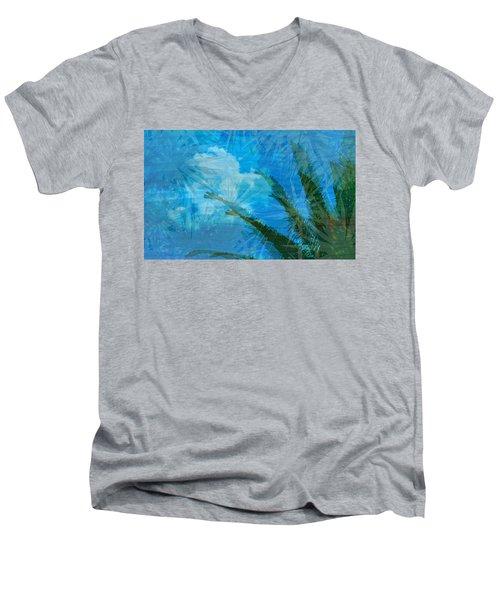Tropical Afternoon Men's V-Neck T-Shirt