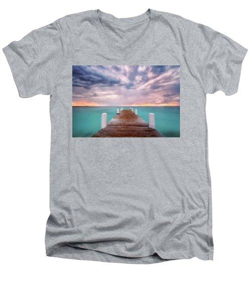 Tropical Drama Men's V-Neck T-Shirt