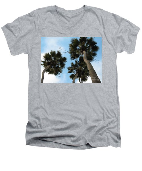 Tropical Splendor Men's V-Neck T-Shirt