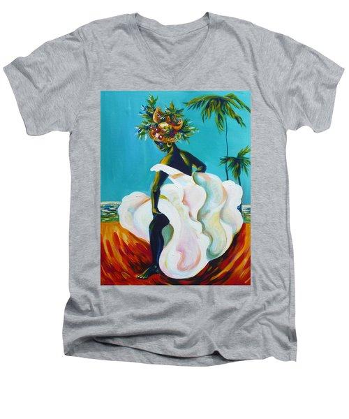 Tropicana Men's V-Neck T-Shirt
