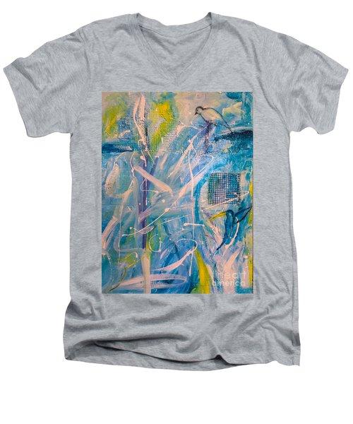 Tropicana Bird 02 Men's V-Neck T-Shirt