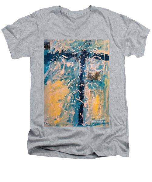 Tropicana Bird 03 Men's V-Neck T-Shirt by Gallery Messina