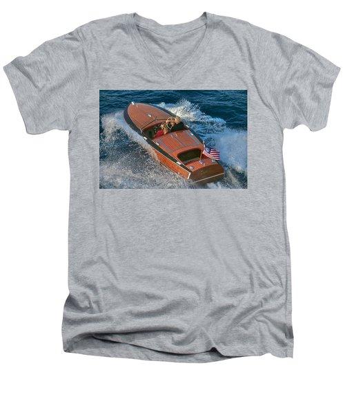 True Classic Men's V-Neck T-Shirt