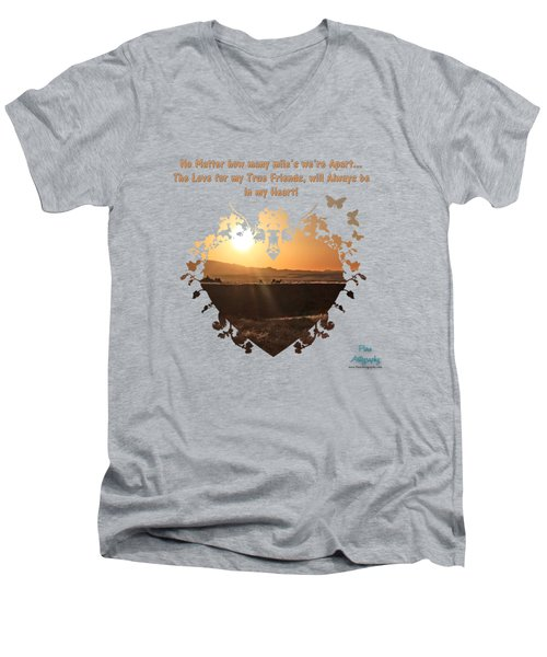 True Friends Men's V-Neck T-Shirt