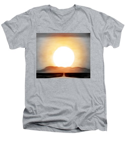 True God Men's V-Neck T-Shirt