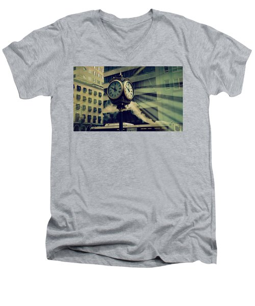 Trump Tower Men's V-Neck T-Shirt
