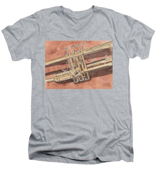 Trumpet Men's V-Neck T-Shirt