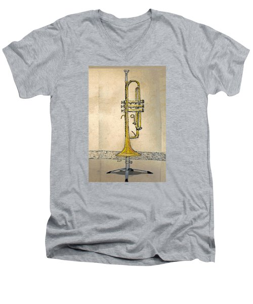 Trumpet Men's V-Neck T-Shirt