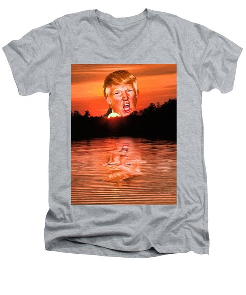 Trumpset 3 Men's V-Neck T-Shirt
