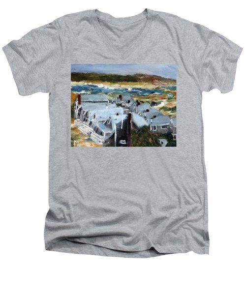 Roseville Beach Colony Men's V-Neck T-Shirt
