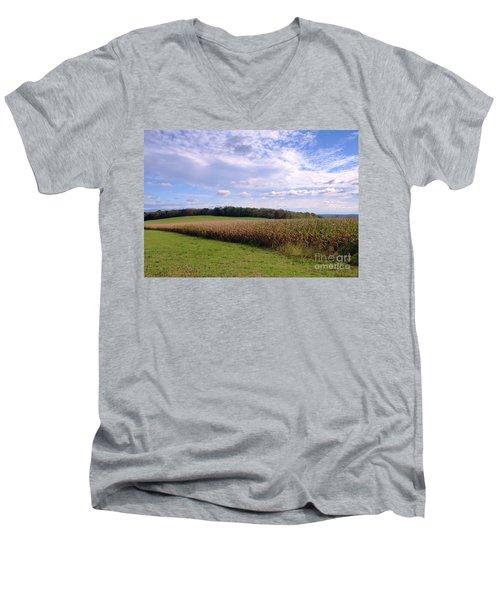 Trusting Harvest Men's V-Neck T-Shirt