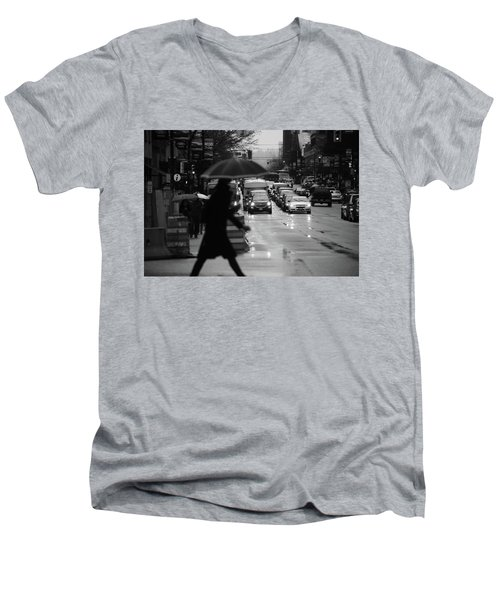 Trying To Stand Out  Men's V-Neck T-Shirt by Empty Wall