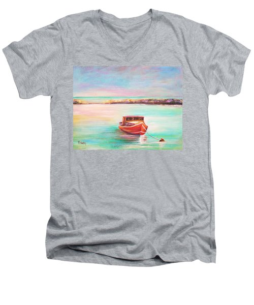 Tucked In Men's V-Neck T-Shirt