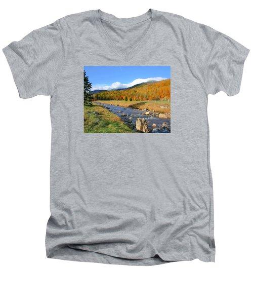 Tuckerman's Ravine Men's V-Neck T-Shirt