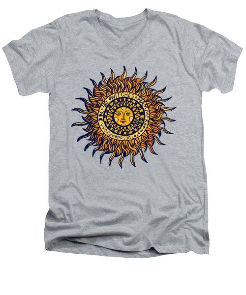Tucson Arizona Del Sol Men's V-Neck T-Shirt