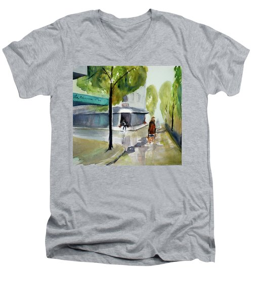 Tudo Street, Saigon11 Men's V-Neck T-Shirt