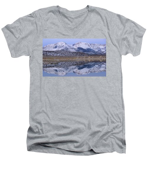 Tufa Dawn Winter Dreamscape Men's V-Neck T-Shirt