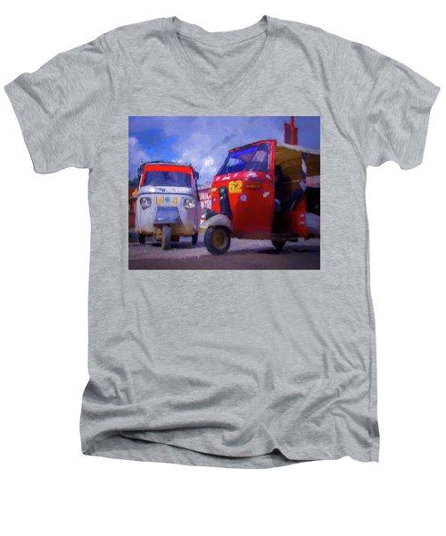 Tuk Tuks  Men's V-Neck T-Shirt