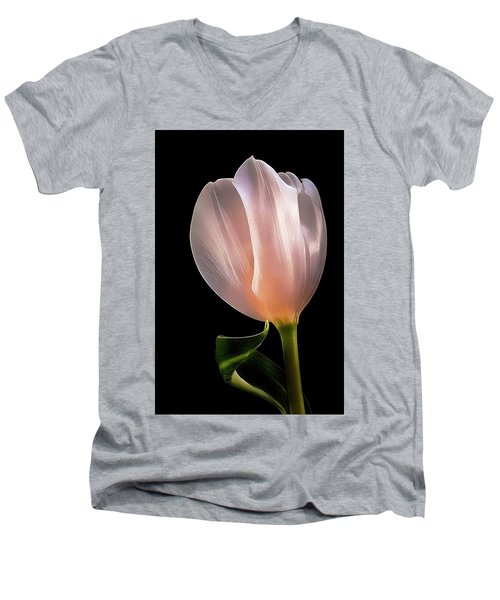 Tulip In Light Men's V-Neck T-Shirt