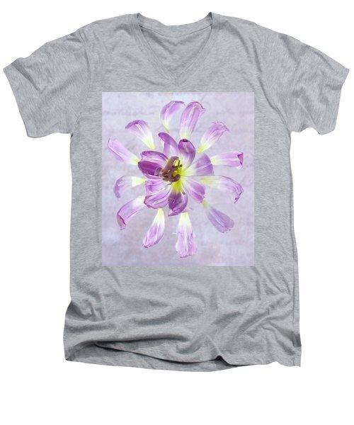 Tulip Patterns  Men's V-Neck T-Shirt