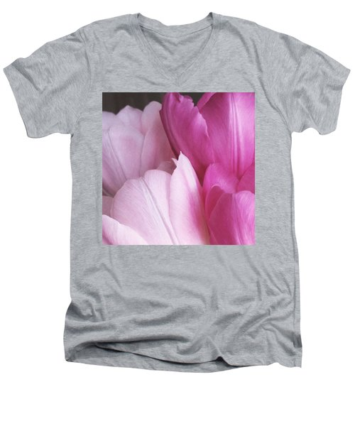 Tulip Petals Men's V-Neck T-Shirt
