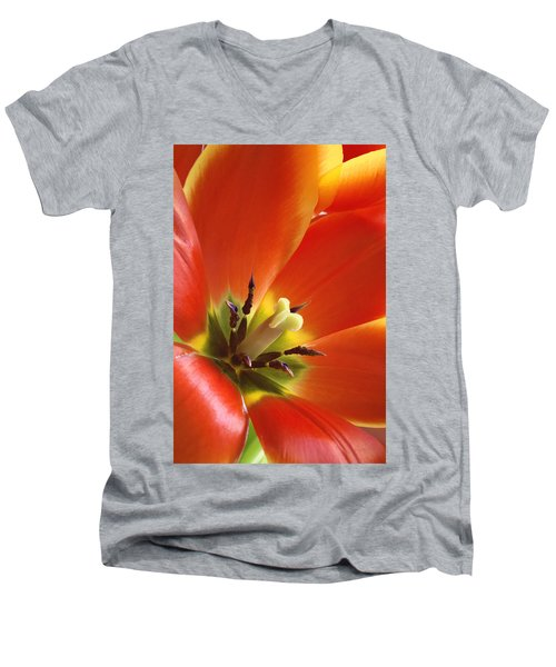 Tuliplicious Men's V-Neck T-Shirt