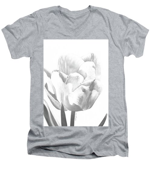 Tulips No. 1 Men's V-Neck T-Shirt