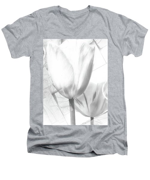 Tulips No. 3 Men's V-Neck T-Shirt