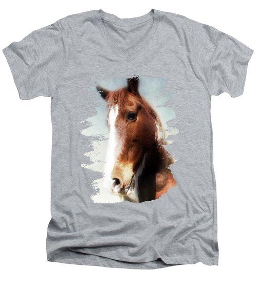 Tumbleweed Sideways Glance Men's V-Neck T-Shirt
