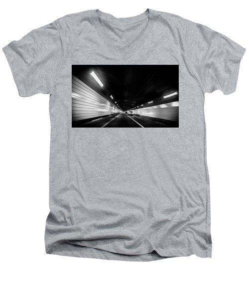 Tunnel Men's V-Neck T-Shirt