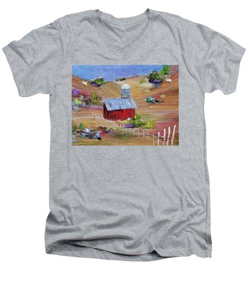 Tunkhannock Farm Men's V-Neck T-Shirt