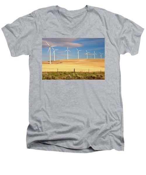 Turbine Line Men's V-Neck T-Shirt