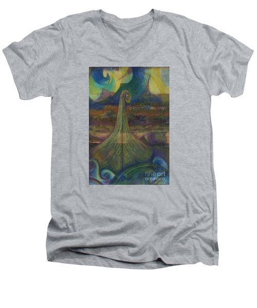 Turbulence Men's V-Neck T-Shirt