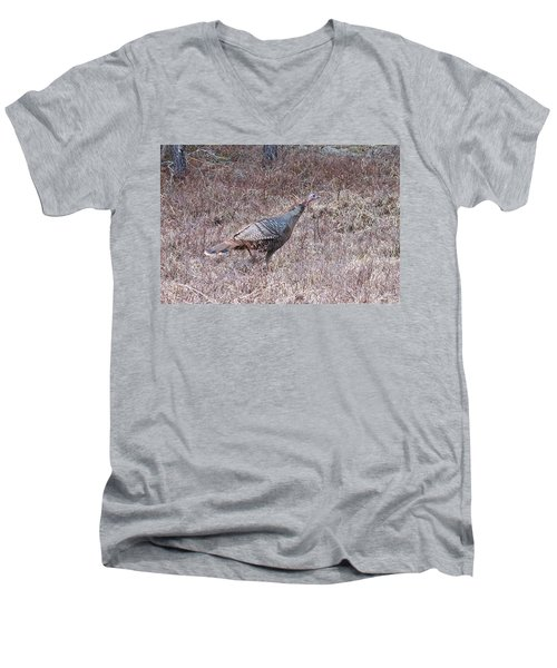 Men's V-Neck T-Shirt featuring the photograph Turkey 1155 by Michael Peychich