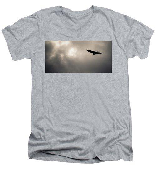 Turkey Vulture Men's V-Neck T-Shirt
