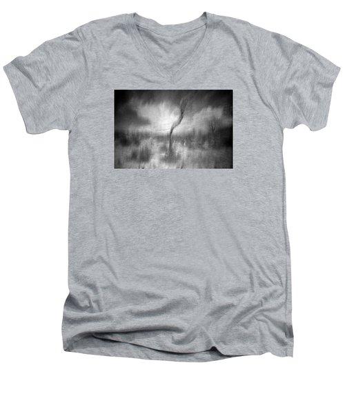 Turn Around  Men's V-Neck T-Shirt by Mark Ross