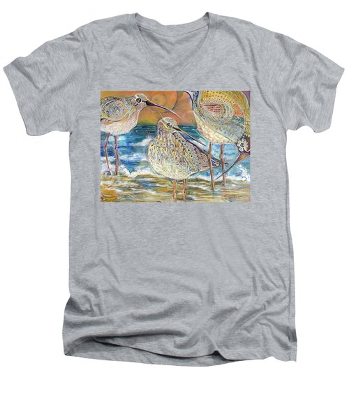 Turning Of The Tides Men's V-Neck T-Shirt